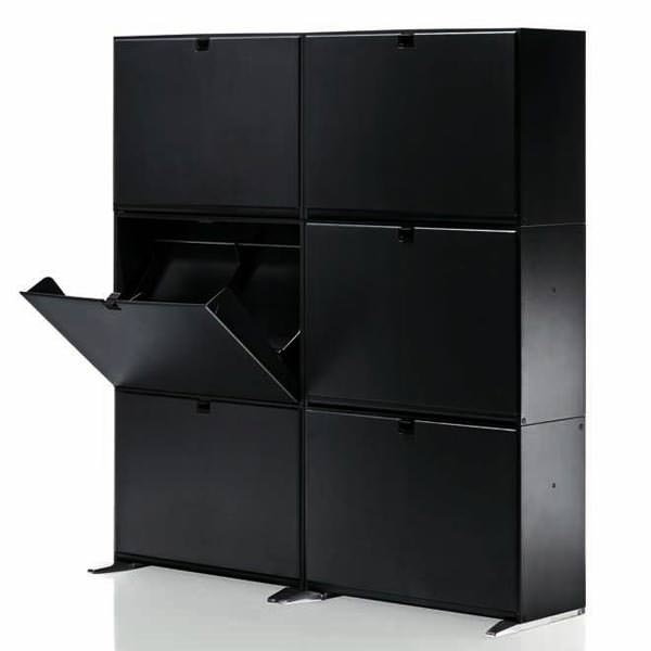armoire chaussures garage angle droit design grenoble. Black Bedroom Furniture Sets. Home Design Ideas
