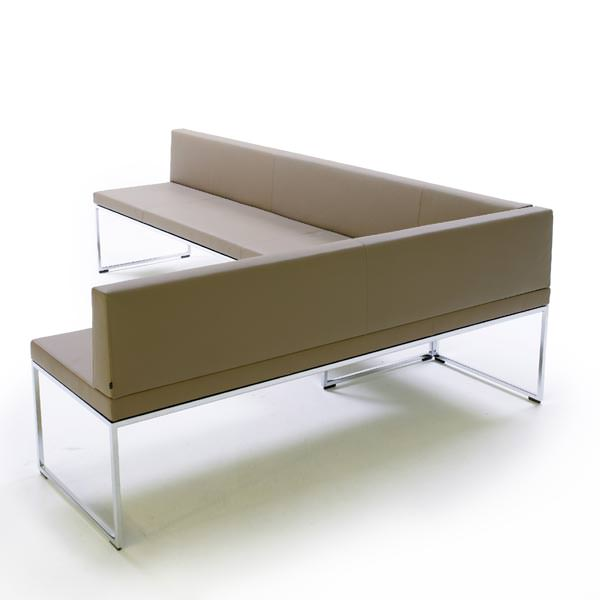 Banquette frame bench angle droit design grenoble lyon for Banquette canape design
