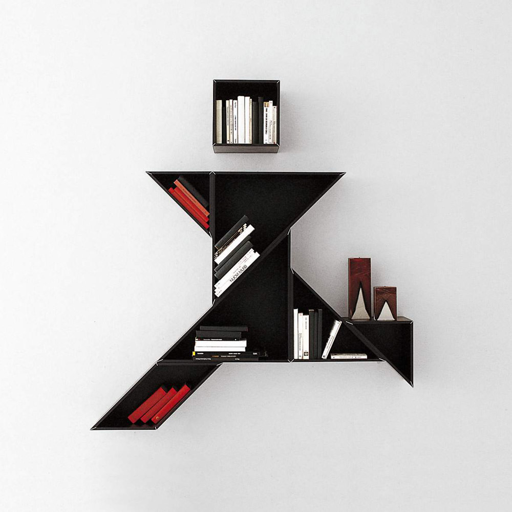 biblioth que tangram a angle droit design grenoble lyon annecy gen ve mobilier design. Black Bedroom Furniture Sets. Home Design Ideas