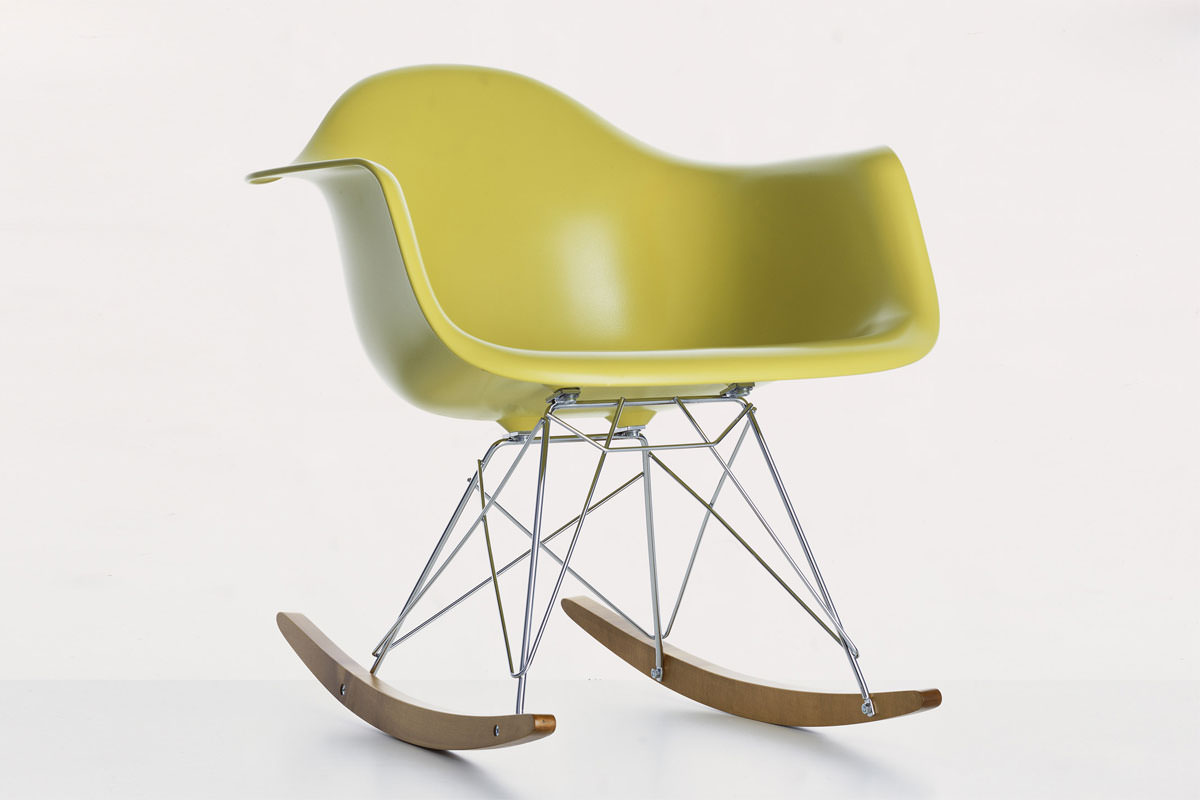 Chaise bascule rar angle droit design grenoble lyon for Chaise vitra bascule