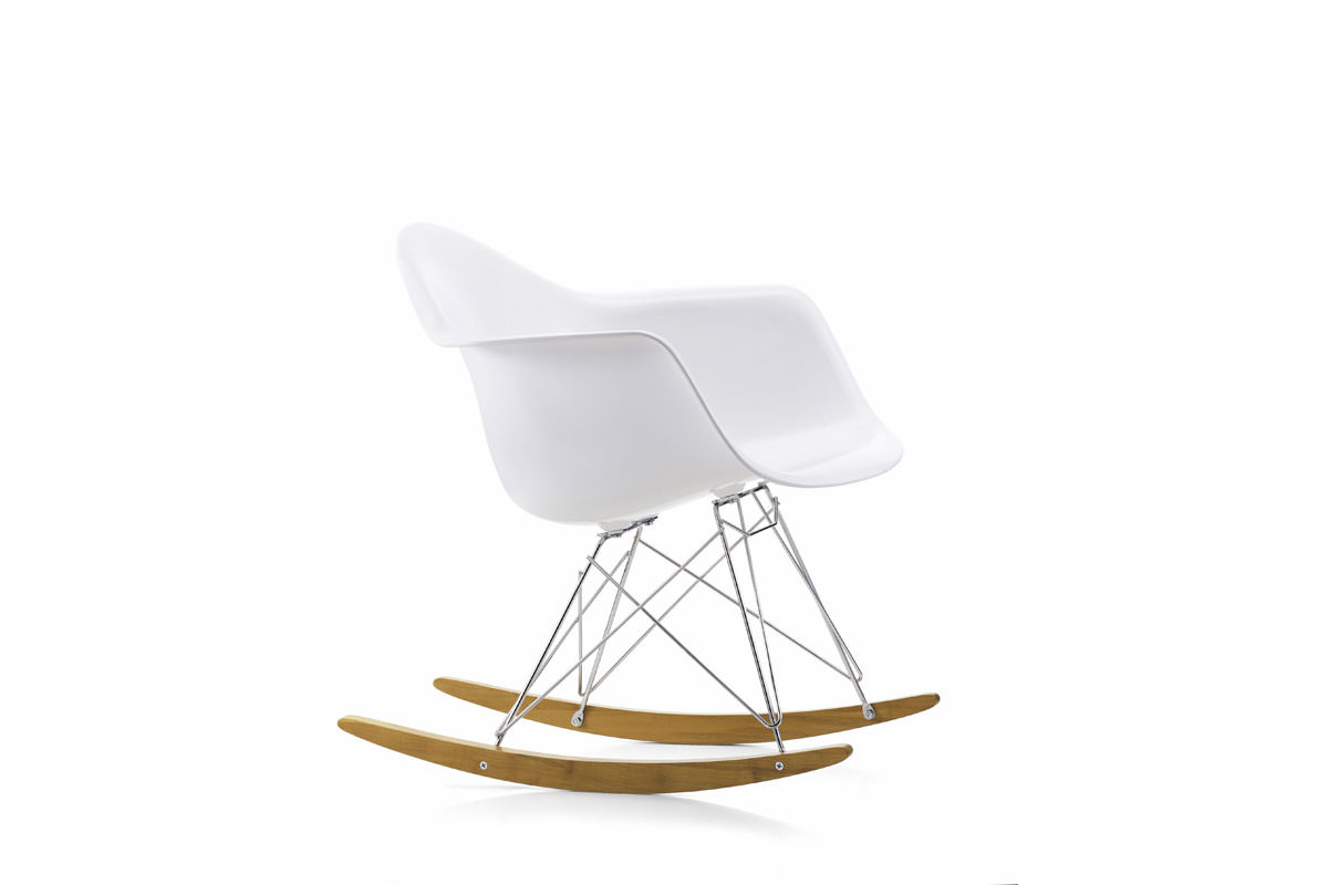 Chaise bascule rar angle droit design grenoble lyon for Chaise eames bascule