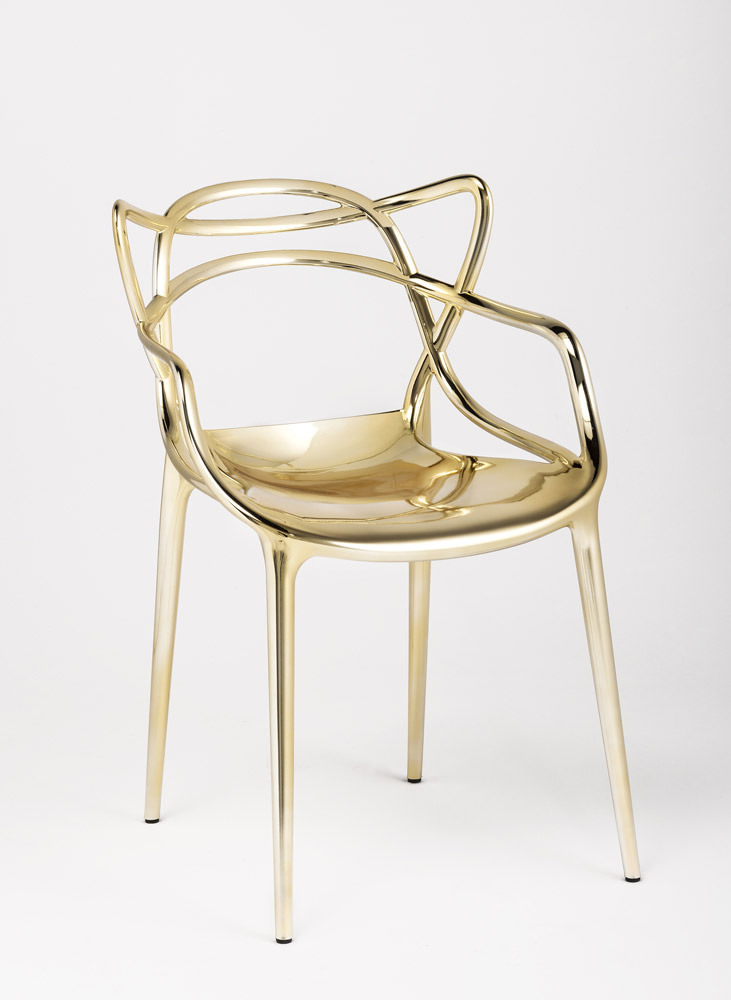 Chaise Masters Gold Angle Droit Design Grenoble Lyon