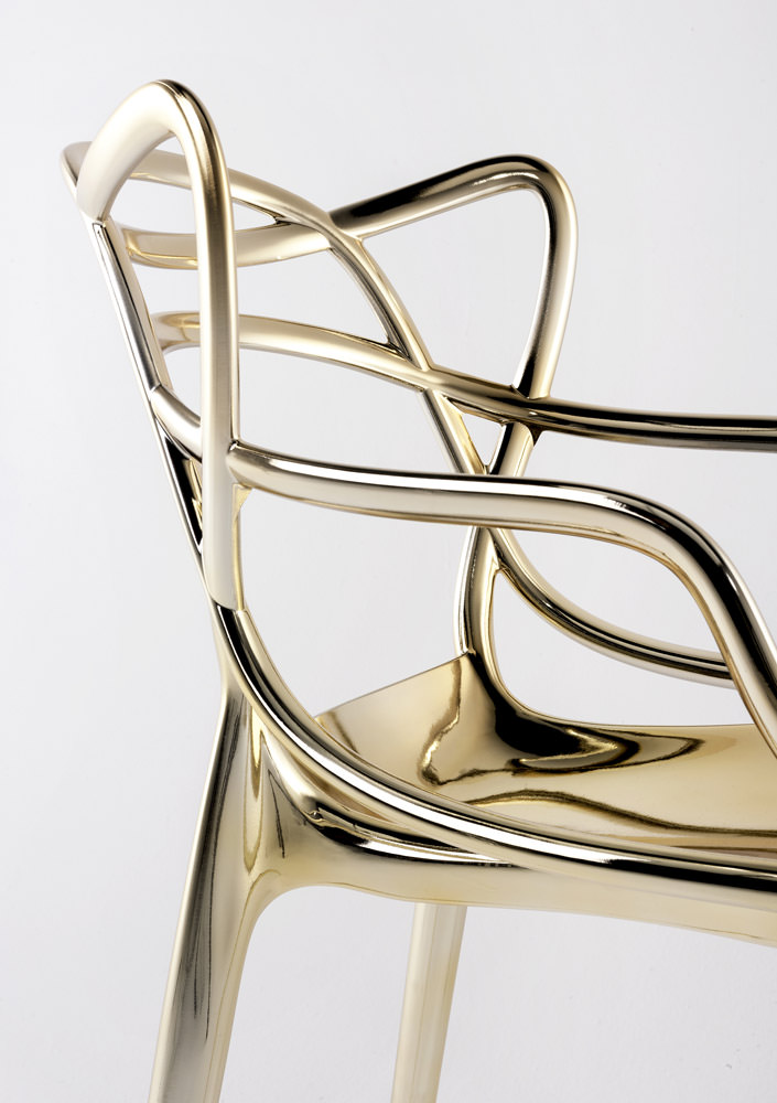 Chaise Masters Gold — Angle Droit Design Grenoble Lyon
