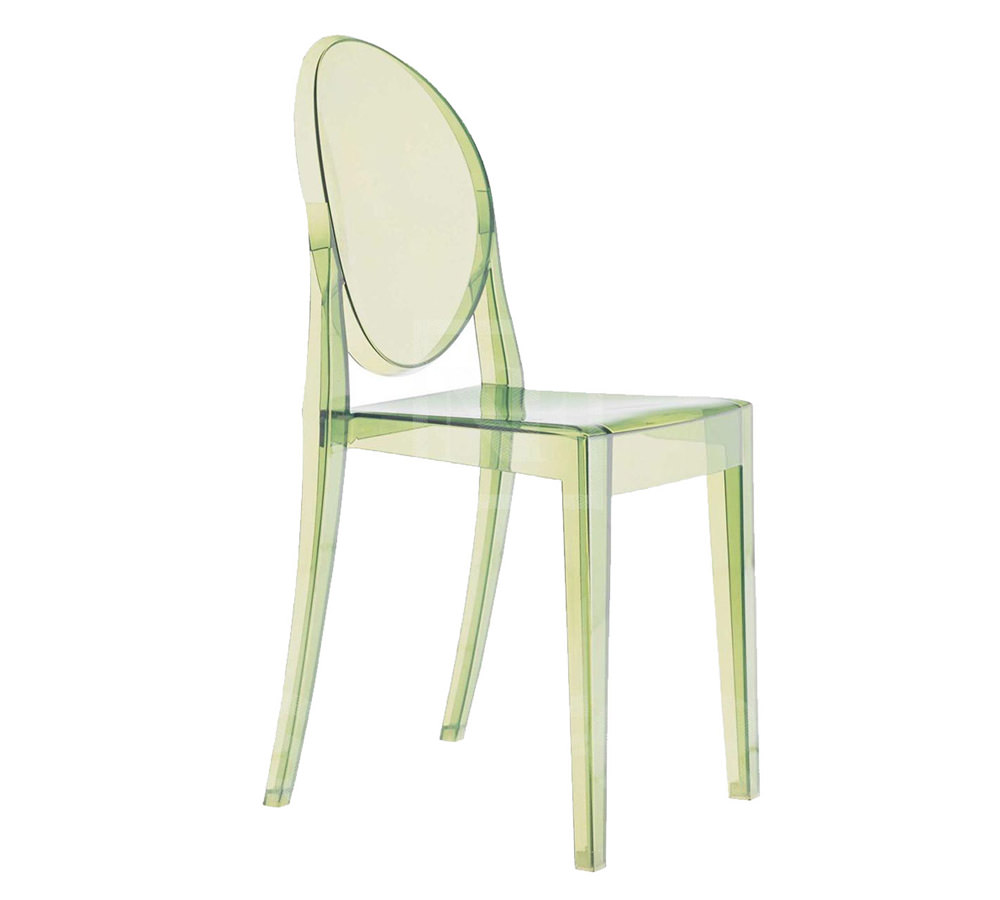 Chaise victoria ghost angle droit design grenoble lyon for Table exterieur starck