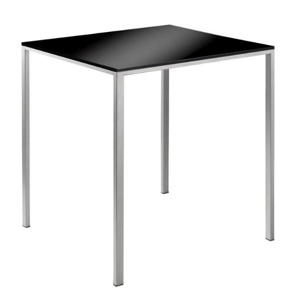 Petite table mini tavolo inox angle droit design for Petite table d angle