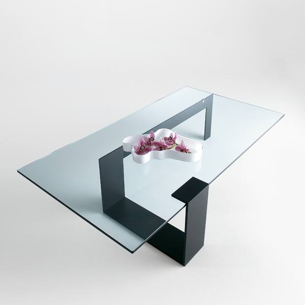 Table basse en verre petite dimension - Petite table basse en verre ...