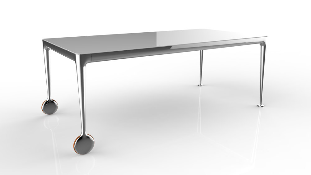 Table big will angle droit design grenoble lyon annecy for Table exterieur starck