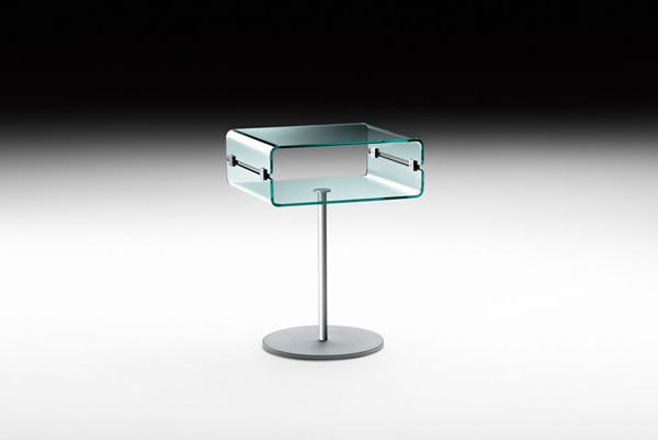 Table de nuit c c night angle droit design grenoble lyon - Table de chevet d angle ...