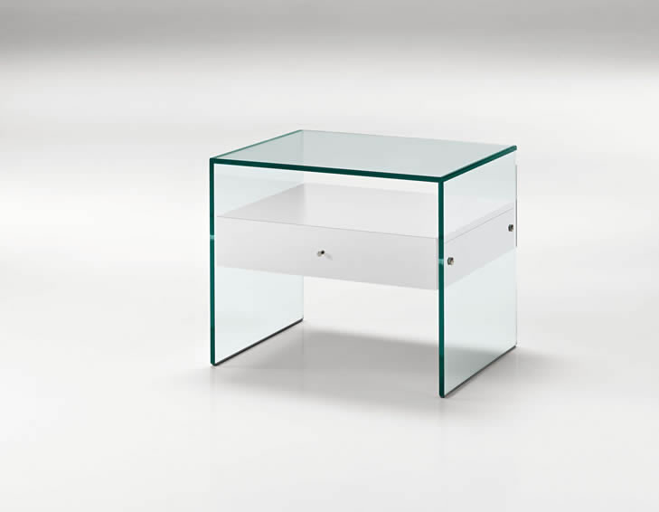 Table de nuit secret angle droit design grenoble lyon - Dimension table de nuit ...