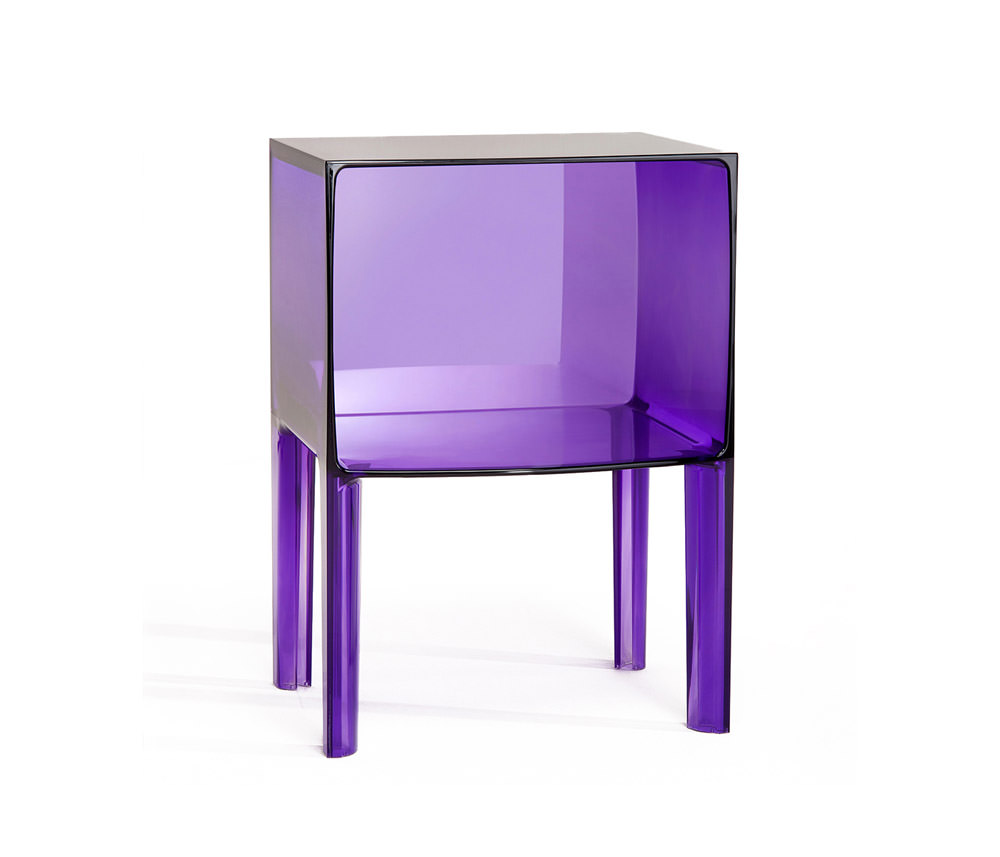 Table de nuit small ghost buster angle droit design - Table de nuit kartell ...