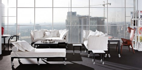 Philippe starck angle droit design grenoble lyon annecy for Canape exterieur starck