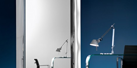 Philippe starck angle droit design grenoble lyon annecy for Miroir caadre philippe starck